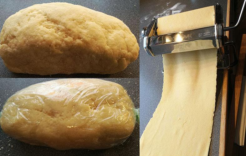 Hjemmelaget pastadeig
