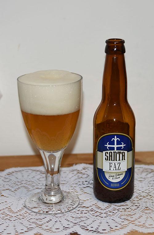 Santa Faz Rubia, La Cerveza Artesana de Alicante, Spania (5,0 %, 33 cl)