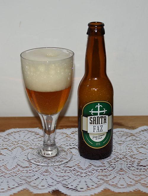 Santa Faz IPA, La Cerveza Artesana de Alicante, Spania (5,0 %, 33 cl)