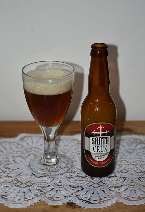 Santa Cruz, La Cerveza Artesana de Alicante, Spania (5,0 %, 33 cl)