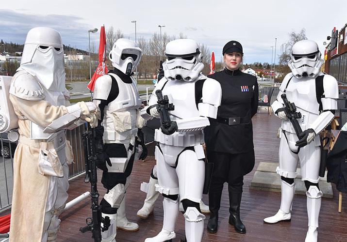 """""""Star Wars"""" eller retter sagt medlemmer fra 501st Nordic Garrison"""