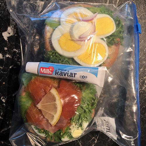 Fra Svetlanans krok: Gode Lunsjideer (matpakker) til jobb og skole