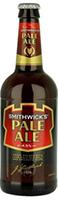 Smithwick's Pale Ale, St. James Gate, Irland Dagens øl er: Smithwick's Pale Ale, St. James Gate som har fått en bra score Smithwick's Pale Ale, St. James Gate (4,5%, 50 cl) Kriterium: Vurdering: Karakter Aroma Aroma av tørket frukt og malt. 5/5 Utseende Gylden, bra med skum 4/5 Smak Smak av tørket frukt og malt som går over i en balansert og god bitterhet og ettersmak 8/10 Helhetsinntrykk Et meget godt ale 42/50 FRA ODDS HJØRNE