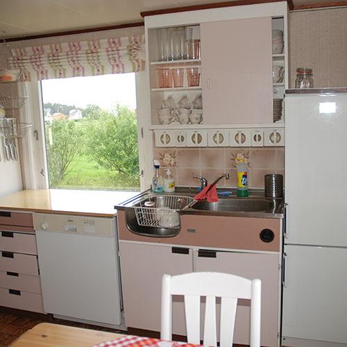 oppussing av kjøkkenet på sommerhuset vårt