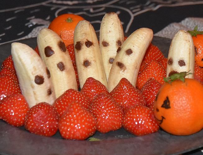 Halloween - fruktfat