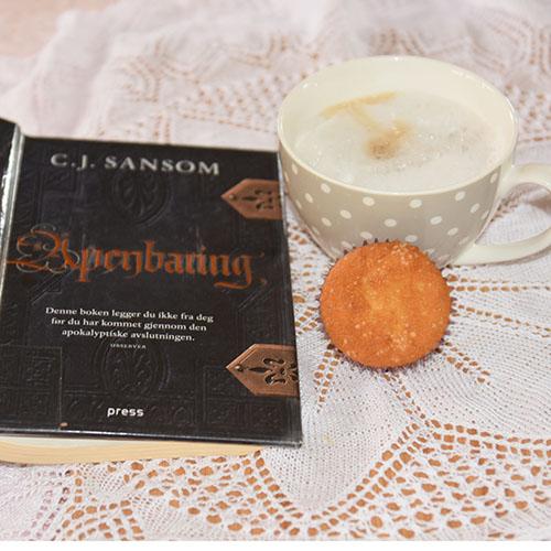 Sansom, C.J. (2011) «Åpenbaring», Press og Odas lyse muffins Ingredienser: 1½ dl Sukker 100 g Smør /margarin (smeltet) 2 Egg 2½ dl Hvetemel 1 ts Bakepulver 1 ts Vaniljesukker 1 dl Melk