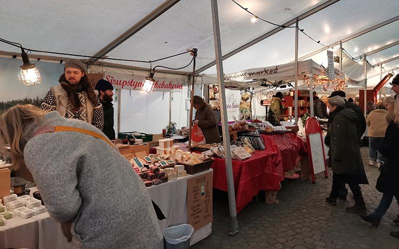 20191218 Bondens marked, Julemarked, Trondheim sentrum, Trøndelag, Norway