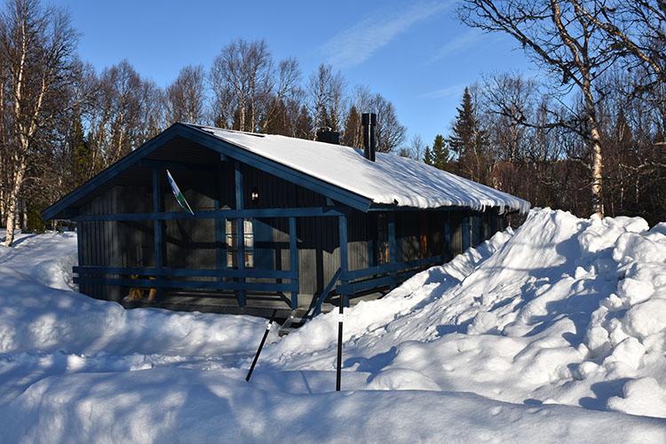 Enafors, Jämtland, Sverige 21.02.2020