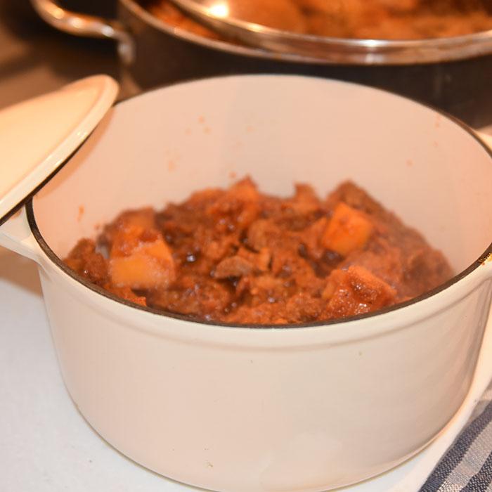 """20200229 - Eritreisk """"matlagingskurs"""" hos våre venner fra Eritrea"""