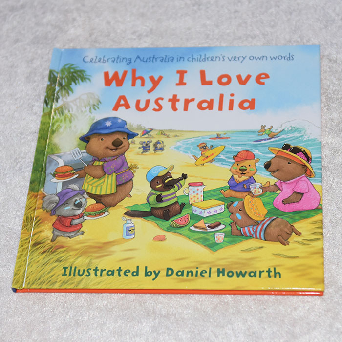 Howarth, Daniel (2019) «Why I love Australia», Harper Collins Childrens's Books https://heidisboble.no/ @heidisboble