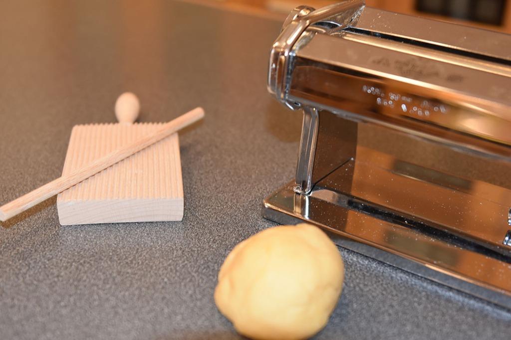 Garganelli med smør Ingredienser 500 g mel 5 egg smør parmesan https://heidisboble.no/ @heidisboble