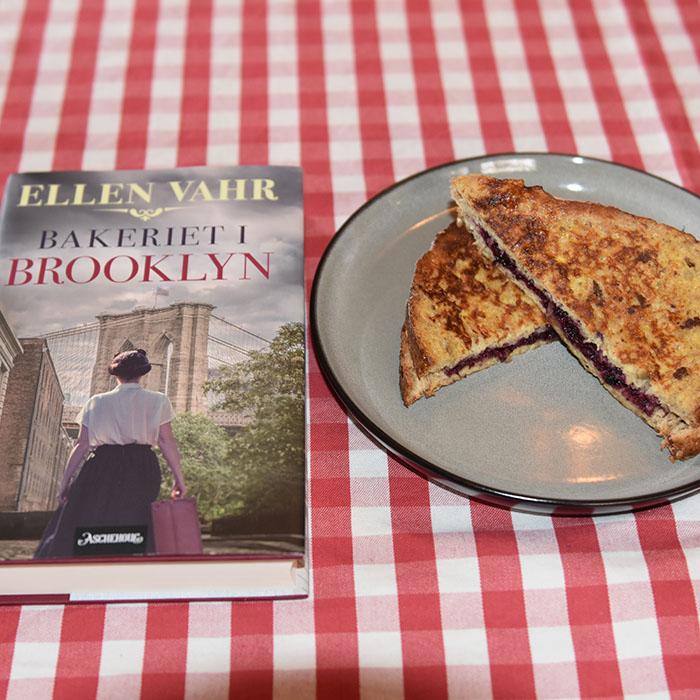 Vahr, Ellen (2021) «Bakeriet i Brooklyn», Aschehoug OG Arme riddere Ingredienser: 2-3 Brødskiver 1 Egg ½ dl Melk 1 ts Kanel 1 ts Sukker (valgfri) 1 ss Smør https://heidisboble.no/ @heidisboble