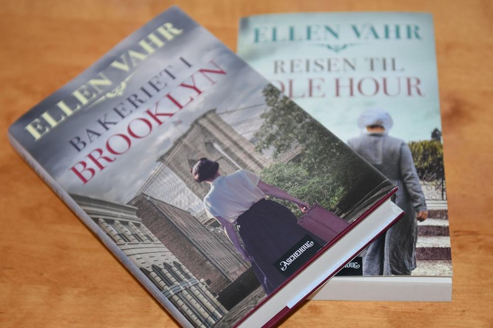 Thea-triologien: Vahr, Ellen (2020) «Reisen til Idle Hour», Aschehoug Vahr, Ellen (2021) «Bakeriet i Brooklyn», Aschehoug https://heidisboble.no/ @heidisboble